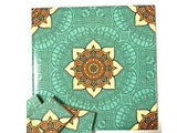 Hand Printed Ceramic Tiles 10x10cm - Pattern 1
