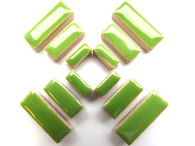 Green Ceramic Rectangles