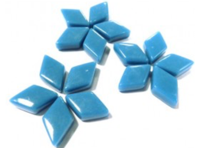 Lake Blue Mini Glass Diamonds