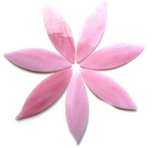 Large Pink Stained Glass Petals