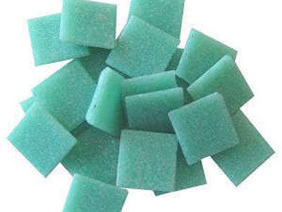 light teal 2cm venetian glass mosaic tiles