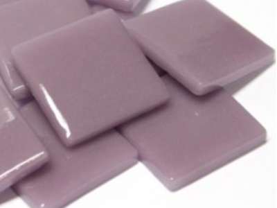 Lilac Gloss Glass Tiles 2.5cm