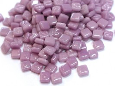 lilac 8mm glass tiles