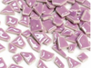 Lilac ceramic puzzle pieces