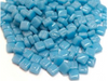 Mid Turquoise 8mm Glass Mosaic Tiles