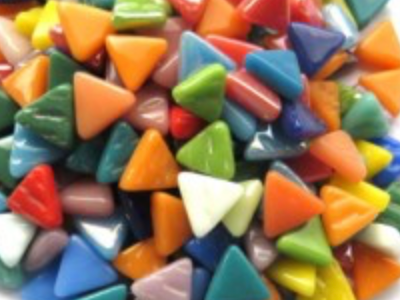 Mixed Glass Triangles