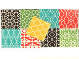 Mixed Moroccan Inspired Glass Tiles 5cm