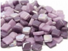Mixed Purple 8mm Glass Tiles
