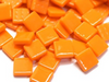 Orange Gloss Glass Tiles 1.2cm