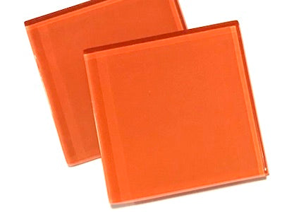 Orange 5cm Glass Tiles (HM)