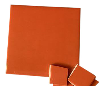 Orange Ceramic Tiles 10x10cm