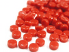 Orange Red Glass Dots (GD15)