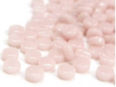 Pale Pink Glass Dots (GD17)