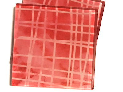 Handmade 5cm Glass Tiles - Pattern 11
