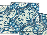 Patterned Handmade 5cm Glass Tiles - No. 1