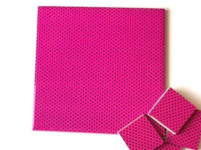 Pink Polka Dots Ceramic Tiles 10x10cm