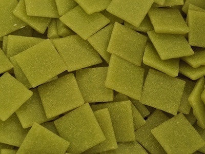 Pistachio green 2cm Venetian mosaic Glass Tiles