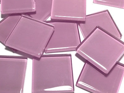Purple No. 7 Glass Mosaic Tiles 2.5cm