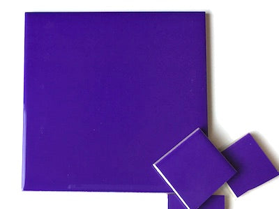 Purple Ceramic Tiles 10x10cm