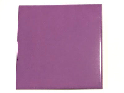 Purple Ceramic Tiles 10x10cm No. 1 (HM)