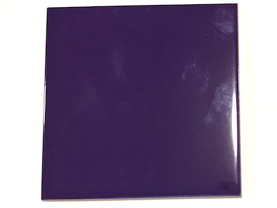 Purple Ceramic Tiles 10x10cm No. 3 (HM)