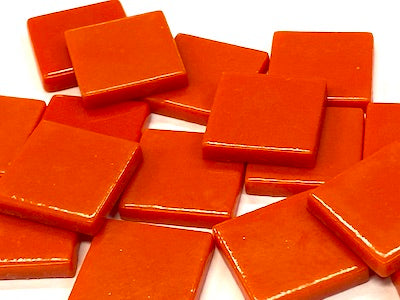 Red Gloss Glass Tiles 2.3cm