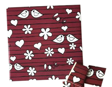 Red Birds Ceramic Tiles 10x10cm