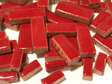 Red Ceramic Rectangles
