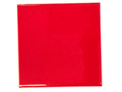 Red Ceramic Tiles 10x10cm No. 2 (HM)