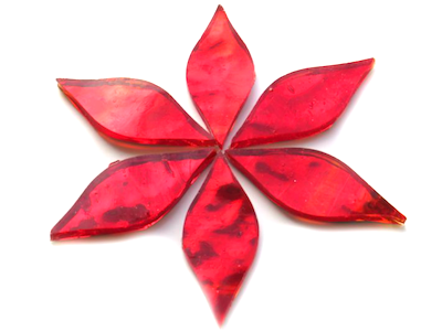Red Regalia Mirror Petals