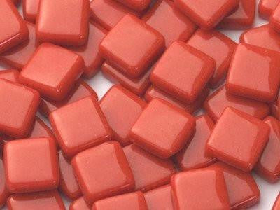 Red Gloss Glass Tiles 1cm (W5)