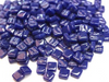 royal blue 8mm glass tiles