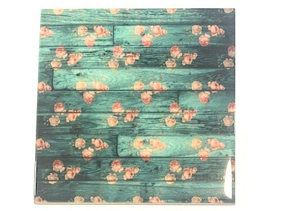 Shabby Chic 10x10cm Ceramic Tiles - No. 10 (HM)