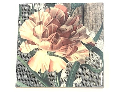 Shabby Chic 10x10cm Ceramic Tiles - No. 11 (HM)