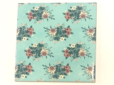 Shabby Chic 10x10cm Ceramic Tiles - No. 15 (HM)