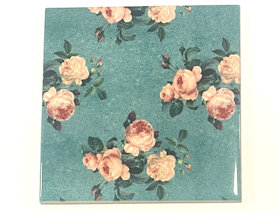 Shabby Chic 10x10cm Ceramic Tiles - No. 16 (HM)
