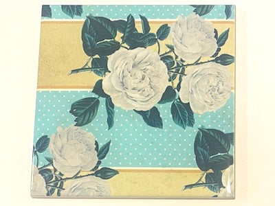 Shabby Chic 10x10cm Ceramic Tiles - No. 28 (HM)