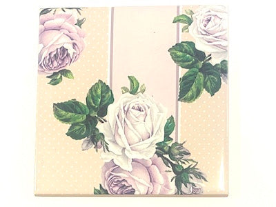 Shabby Chic 10x10cm Ceramic Tiles - No. 29 (HM)