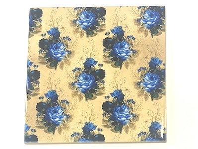 Shabby Chic 10x10cm Ceramic Tiles - No. 7 (HM)