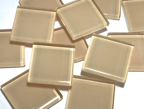 Skin Toned Glass Mosaic Tiles 2.5cm - No. 6