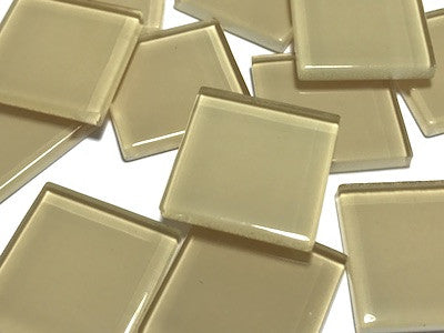 Skin Toned Glass Mosaic Tiles 2.5cm - No. 7
