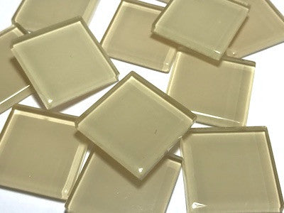 Skin Toned Glass Mosaic Tiles 2.5cm - No. 8