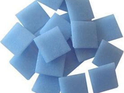 sky blue 2cm venetian glass mosaic tiles