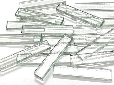 Clear Glass Strips - 5x1cm