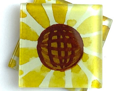 Talavera Mexican Glass Tiles 5cm - Pattern 10 (HM)