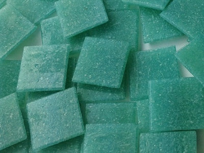 Teal 2cm Venetian Glass Mosaic Tiles