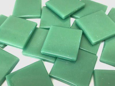 Teal Gloss Glass Tiles 2.5cm