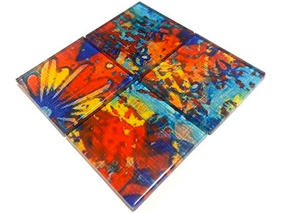 Vintage Gypsy Glass Mosaic Tiles 5cm - No. 7 (H