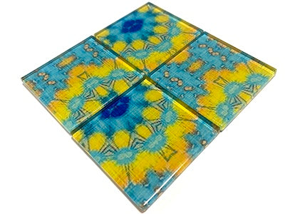 Vintage Gypsy Glass Mosaic Tiles 5cm - No. 9 (HM)