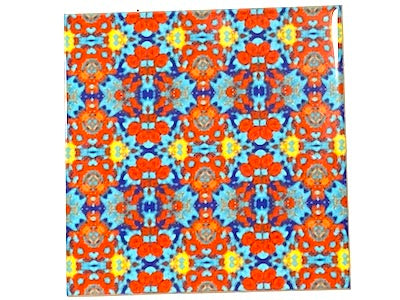 Vintage Gypsy Ceramic Tiles 10x10cm - Pattern 2 (HM)